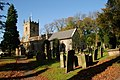 Eyam Church in autumn - geograph.org.uk - 588630.jpg
