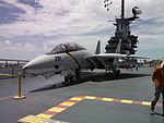 F-14 Static display USS Lexington.jpg