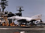 F-4S VF-171 landing on USS Carl Vinson (CVN-70) c1984.jpeg