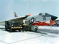 F-8 Crusader of VMF-334 on the ground.jpeg