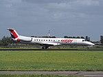 F-GRGC HOP! Embraer ERJ-145EP landing at Schiphol (EHAM-AMS) runway 18R pic2.JPG