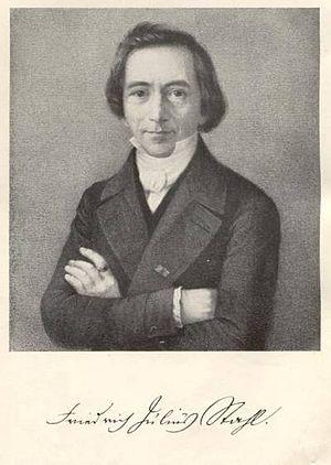 Friedrich Julius Stahl - Friedrich Julius Stahl (1840)