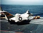 F4D-1 of VF-141 on USS Bon Homme Richard (CVA-31) in 1957.jpg