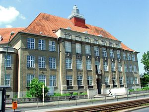 HTW Berlin - Main Building in Karlshorst