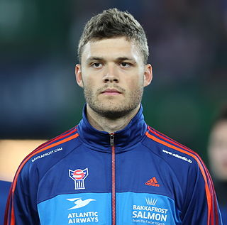 Rógvi Baldvinsson Faroese footballer