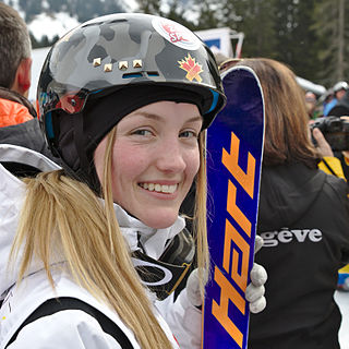 Justine Dufour-Lapointe Canadian freestyle skier