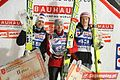 FIS Ski Jumping World Cup Zakopane 2011 - podium friday.JPG