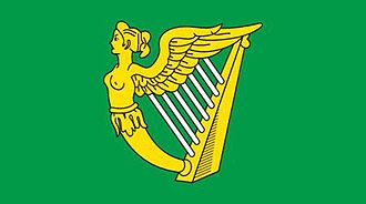 Irish nationalism - The green harp flag was first used by Irish Confederate troops in the Eleven Years War, and became the main symbol of Irish nationalism from the 17th to the early 20th century.