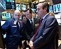 FT ringing the Closing Bell at the NYSE (8740579061).jpg