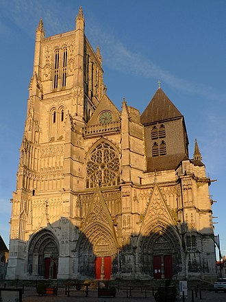 Roman Catholic Diocese of Meaux - Cathedral of St.-Étienne, Meaux
