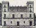 Façana de la Casa de la Ciutat de València abans de ser enderrocada.jpg