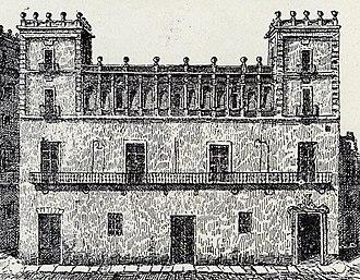 Casa de la Ciutat (Valencia) - Facade of the Casa de la Ciutat, Valencia