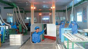 강계시: Image:Fabrica Procesamiento Madera Kanggye (3)
