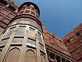 Facade of Agra Fort - Agra - Uttar Pradesh - India - 03 (12613181644).jpg