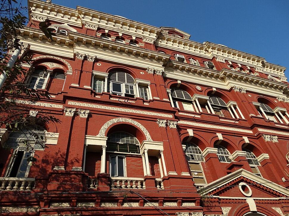 Facade of Writers Building - Central Kolkata
