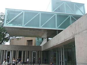 Caraffa Fine Arts Museum - Entrance to new wing