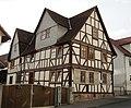 Fachwerk Doppelwohnhaus von 1744 und 1809 einer Hofanlage - Meinhard-Grebendorf Kirchstraße 29 - panoramio (1).jpg