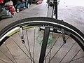 Fahrradschlauch erneuern SRAM S7 Schaltung vom Fahrrad Abbauen 9.JPG