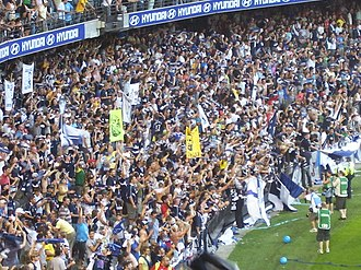 Melbourne Victory FC - Melbourne Victory supporters at the 2007 A-League Grand Final