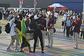 Fans in the Olympic Park (7724440446).jpg