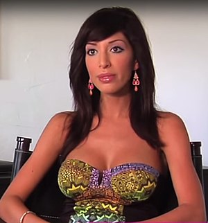 Farrah Abraham - Abraham while being interviewed in 2014