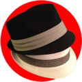 Fedoras Cut Out Symbol PNG.png