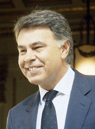 Felipe González - González in 1991