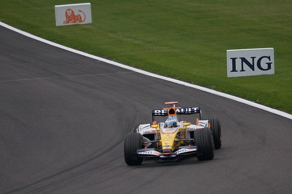 Fernando Alonso 2008 Belgium