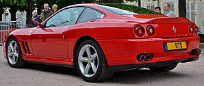 Ferrari 575M Maranello - Ferrari 575M Maranello (rear)