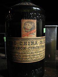Ferro china wikipedia for Un liquore tonico