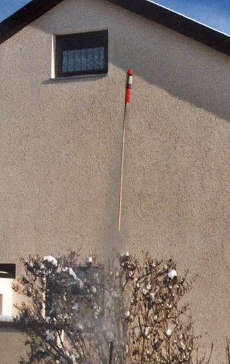 Skyrocket - Image: Feuerwerksrakete Start 1