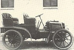Fiat 12 HP - Fiat 12 HP double Phaeton