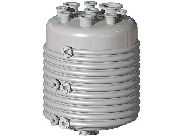 Coil Boiler Design ~ Heat exchanger