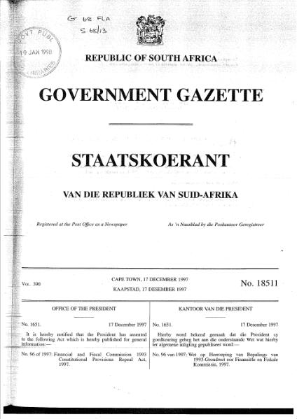 File:Financial and Fiscal Commission 1993 Constitutional Provisions Repeal Act 1997.djvu