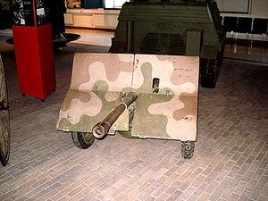 Bofors 37 mm - Image: Finnish bofors 37mm front