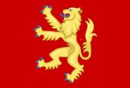Flag of Richard I of England as Commander in Chief English Fleet (1189)
