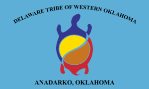 Flag of the Delaware Tribe of Western Oklahoma.png