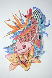 Flash tatuaje wikipedia la enciclopedia libre for Imagenes de peces chinos