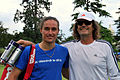 Flickr - Carine06 - Alexandr Dolgopolov with his coach Jack Reader.jpg