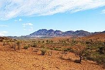 South Australia-Geography-Flinders ranges pastoral land