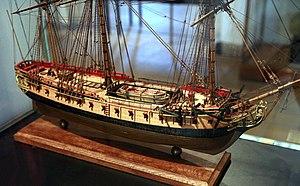 French ship Vestale (1756) - the Vestale