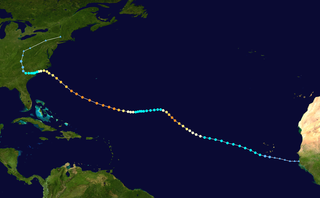 Meteorological history of Hurricane Florence