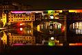 Florentine Colours III (FLORENCE-ITALY-PONTE VECCHIO-REFLECTION-BRIDGE) (905474650).jpg