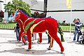 Flower horses during the Flower Festival, Funchal, Madeira, Portugal.jpg