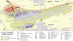 Stuttgart–Wendlingen high-speed railway - Image: Flughafen und Messe Stuttgart