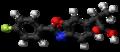 Flunoxaprofen molecule ball.png