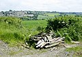 Fly tipping near Newton St. Loe - geograph.org.uk - 833346.jpg