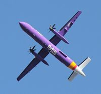 G-JEDT - DH8D - Flybe