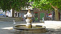 Fontaine publique d'Orange, early morning.jpg