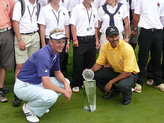 Austrian Open (golf) - 2008 Jeev Milkha Singh from India won (in the yellow shirt)
